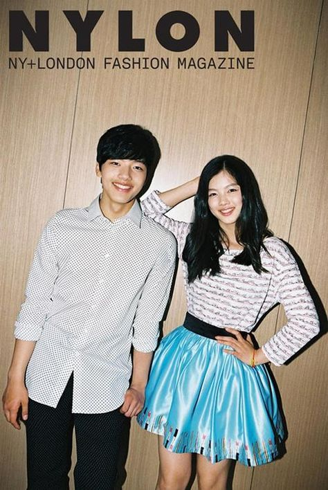 Child Actors Yeo Jin Goo & Kim Yoo Jung for NY Nylon