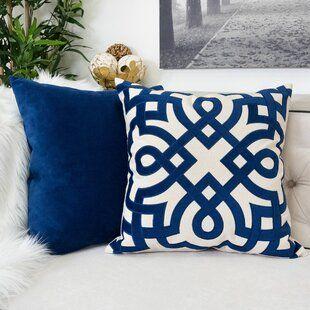 East Urban Home Alaskan Malamute Indoor Outdoor Throw Pillow Cover Wayfair Throw Pillows Cotton Throw Pillow Blue Throw Pillows