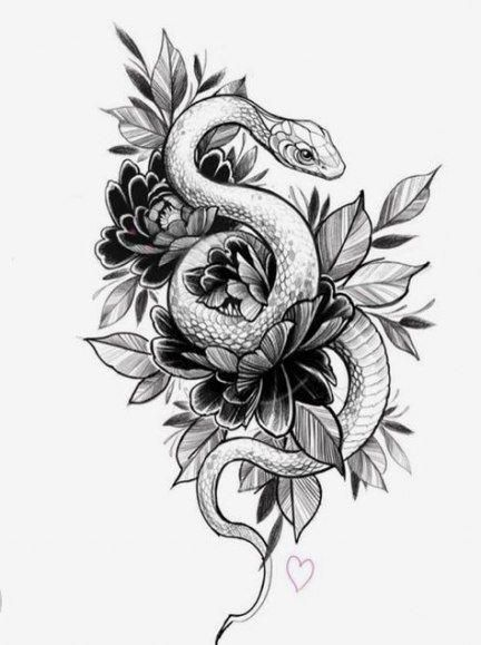 Tattoo Drawings Tattoo Tattoo Designs Drawings Snake 23 Ideas Tattooing Tatowieren In 2020 Snake Tattoo Design Tattoos Tattoo Design Drawings