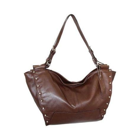 a93498b42 Women's Nino Bossi Adriana Leather Hobo Handbag - Brown Hobo Handbags