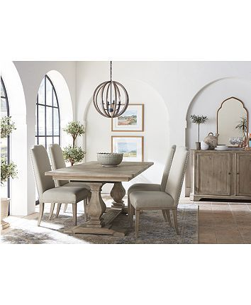 Rachael Ray Monteverdi Dining Furniture 7 Pc Set Table 4
