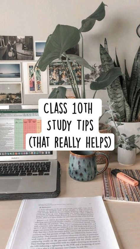 Class 10th  Study Tips (that really helps) l Study Tips l Class 10th l Study l Study Motivation