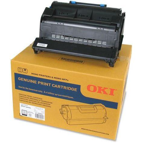 Oki Toner Cartridge For B721 B731 Printer 18000 Pages 45488801