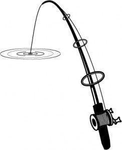 Fishing Rod Clipart Bent 839 Fishing Pole Fish Clipart Fishing Rod
