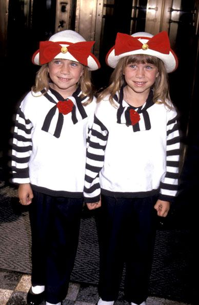 Mary Kate And Ashley Olsen So Cute When They Were Little Bittys