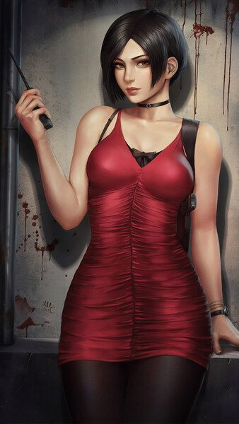 Ada Wong Resident Evil 2 Remake 4k Hd Mobile Smartphone And Pc Desktop Laptop Wallpaper 3840x2160 1920x Resident Evil Girl Ada Resident Evil Resident Evil