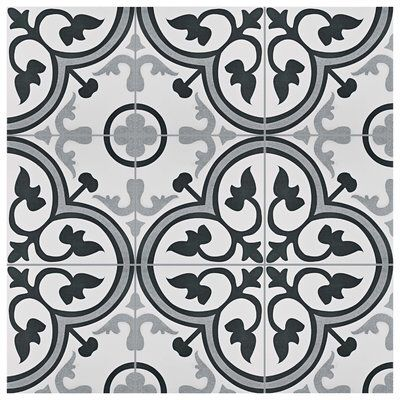 Mora 12 3 8 X 12 3 8 Ceramic Spanish Field Tile Ceramic Floor Elitetile Floor And Wall Tile