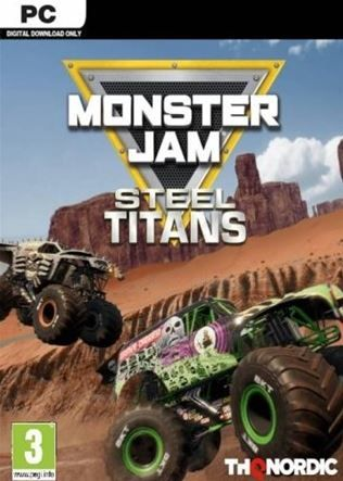 Monster Jam Steel Titans Pc Game Download Online Information Monster Jam Pc Games Download Gaming Pc