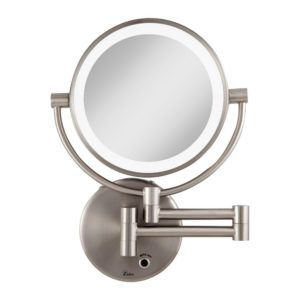 Bathroom Mirror Magnifying 10x Lighted Wall Mount Lighted Wall Mirror Wall Mounted Makeup Mirror Wall Mounted Mirror