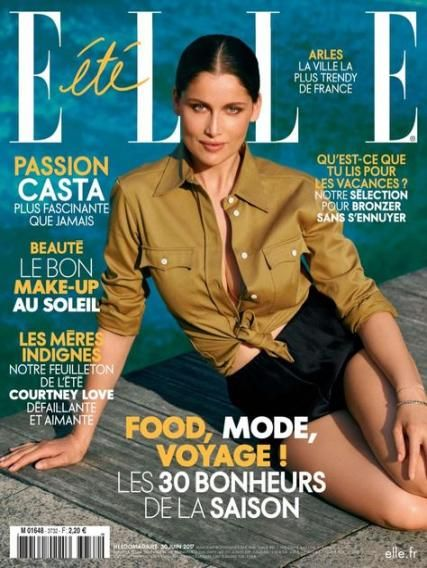 Fashion Magazine Cover Summer 56 Ideas For 2019 Fashion Laetitia Casta Laetitia Fashion Magazine Cover