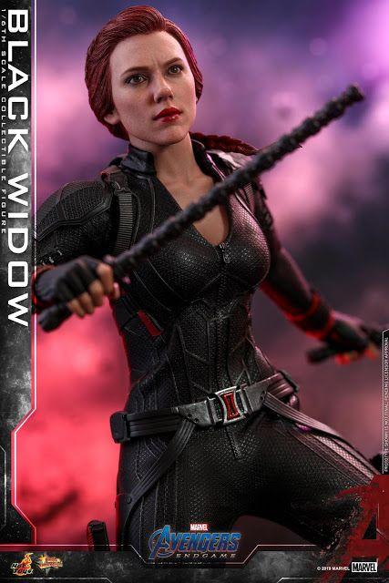 Avengers Endgame Black Widow Action Figure
