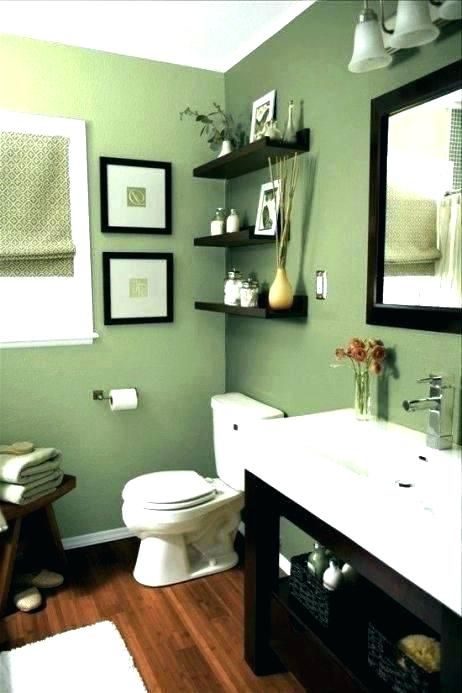 No Matter Your Ideas For Your Bathroom Design Are Don T Forget To Take Your Financial Pla Small Bathroom Colors Green Bathroom Decor Bathroom Color Schemes