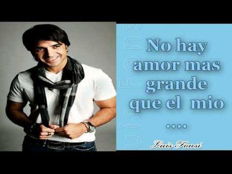 18 Luis Fonsi Ideas Music Love Me Forever Forever Love