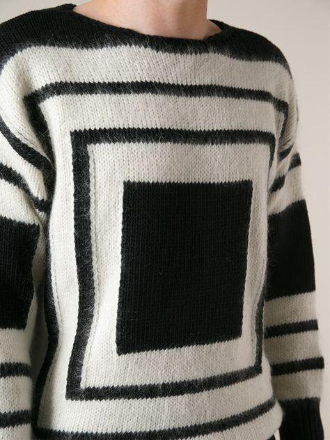 cb6c78857ce35a Alexander Mcqueen Square Knit Sweater - Restir - Farfetch.com ...