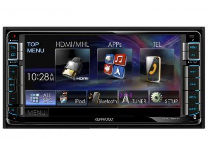 Central Multimidia Kenwood Ddx715wbt Lcd 6 95 Usb Bluetooth