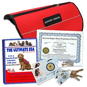 Ultimate Esa Lifetime Vip Kit With Images Emotional Support Animal Support Animal