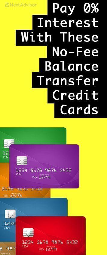 Interest free credit cards 0 balance transfer fee