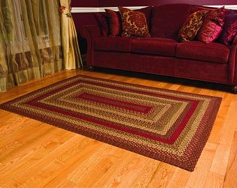 Loft Braided Rug Tabletop New Collectio Etsy In 2020 Braided Area Rugs Jute Rug Rugs