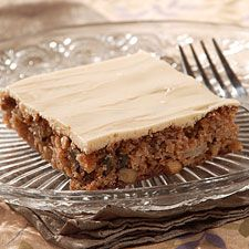 Old Fashioned Apple Cake With Brown Sugar Frosting Recette