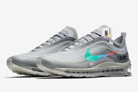 cheaper d4649 7adb8 OFF-WHITE x Nike Air Max 97 Black   Menta  Where to Buy Today