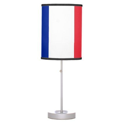 France Flag Table Lamp Zazzle Com In 2020 Table Lamp Lamp Custom Table
