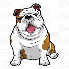 Resultado De Imagen De English Bulldog Line Drawing Perros Buldog Ingles Bulldog Dibujo Perros En Caricatura