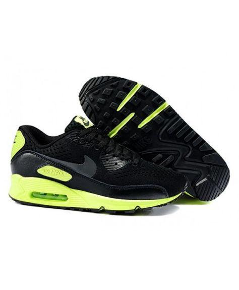 info for 7b8a4 685be Mens Nike Air Max 90 Em 2014 Green Black 6809331-163