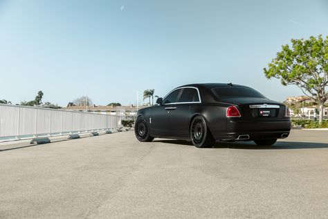 Rolls Royce Ghost On Rotiform Wheels For Boden Autohaus Mr Car