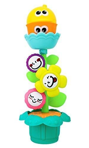 Zooawa Baby Bathtub Toys Flower Waterwheel Bath Time Bathroom Cartoon Kids Toy Gift Water Playing Tools For Toddlers Colorful In 2020 Kids Toy Gifts Baby Bath Tub Bathtub Toys