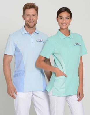Unisex Polo Kasack Gil Berufsbekleidung Arbeitskleidung Berufskleidung