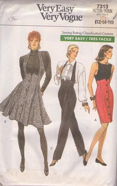 Vtg Historical 40s Retro Front Peplum Dress Belt Sewing Pattern Sz 6 8 10 12 14