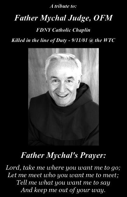 A prayer Father Mychal Judge, OFM