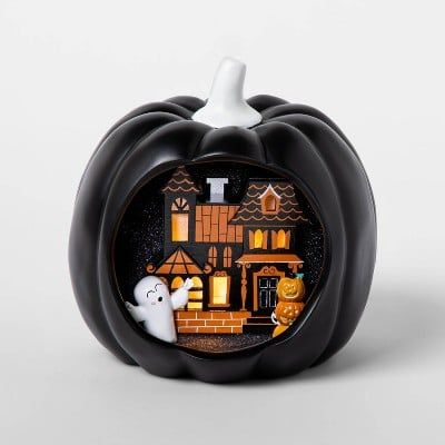 Prepare For A Scare Target S 2020 Halloween Decorations Have Arrived For The Season Black Pumpkin Pumpkin Decorating Halloween Decorations Indoor