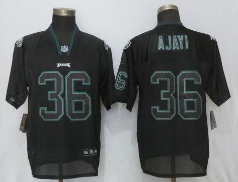 Men Philadelphia Eagles 36 Ajayi Lights Out Black New Nike Elite NFL Jerseys d6224e8b0