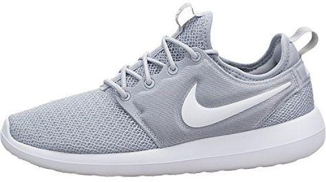 549937b7a1420 Nike Women s Roshe Two Wolf Grey White Wolf Grey Running Shoe 6 Women US
