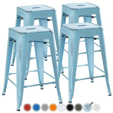 Top 10 Best Backless Kitchen Metal Bar Stools In 2020 Metal Bar
