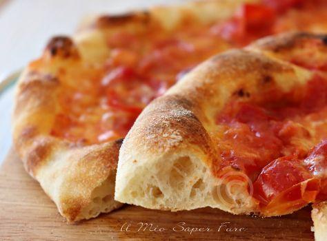 Pizza Napoli Fatta In Casa Con 2 G Di Lievito E Maturazione In Frigo Ricette Ricette Di Cucina Ricette Pasta Per Pizza