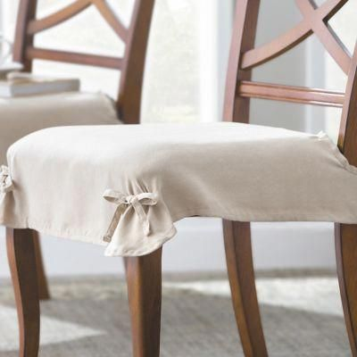 Use our Microsuede Chair Covers to refresh your dining room ...