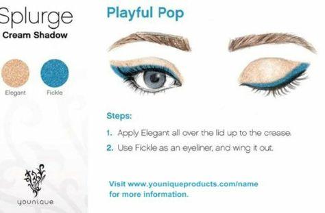 splurge Playful Pop #Younique #Splurge...
