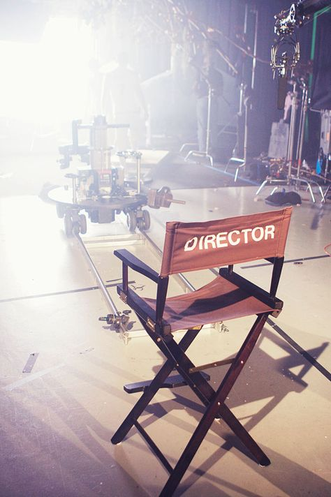 A directors chair on a film set. A director's chair on a film set. The post A directors chair on a film set. appeared first on Film. Filmmaking Quotes, Documentary Filmmaking, Filmmaking Books, Dream Life, My Dream, Dream Job, Television Set, Visualisation, Dream Career