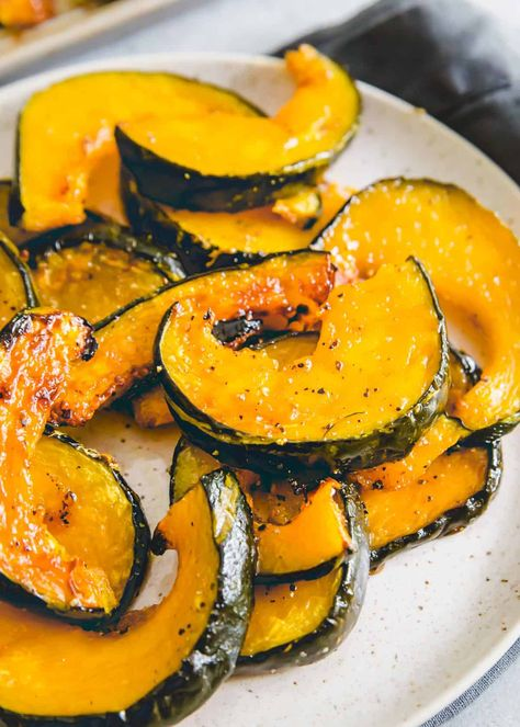 Simple Roasted Buttercup Squash - How to Cook Buttercup Squash