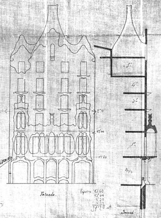 Casa Batllo Wikipedia La Enciclopedia Libre Casa Batlo Gaudi Dibujos De Arquitectura