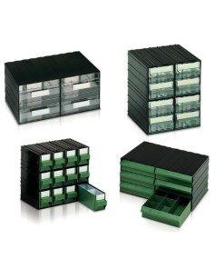 Cassettiere In Plastica Per Minuterie.Cassettiere In Plastica Componibili Per Minuteria Trasparenti E