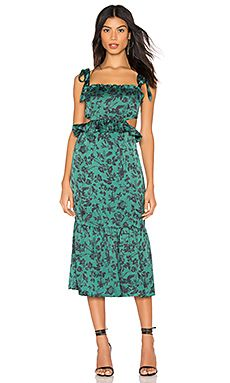 New Francesca Midi Dress MAJORELLE  Fashion womens clothing. [$258] featuredtopbuy Fashion is a popular style