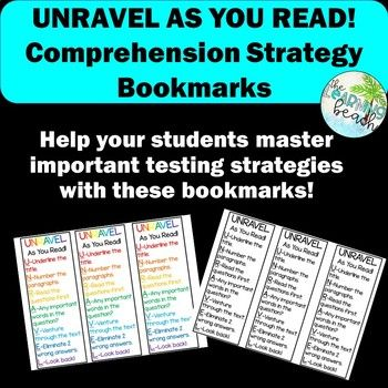 49++ Unraavel reading strategy worksheets Popular