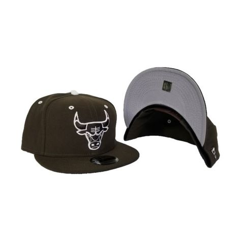 Matching New Era Brown Chicago Bulls Snapback Hat For Jordan 3 White Mocha 0542bebe7152