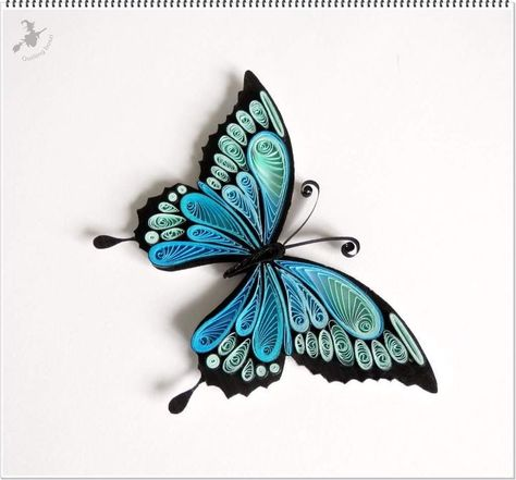 Quilled butterfly  Quilled butterfly  The post Qui - #Butterfly #post #Qui #Quilled