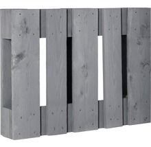Projektpalette halb quer 60x80x15 cm grau | Geschenke ...