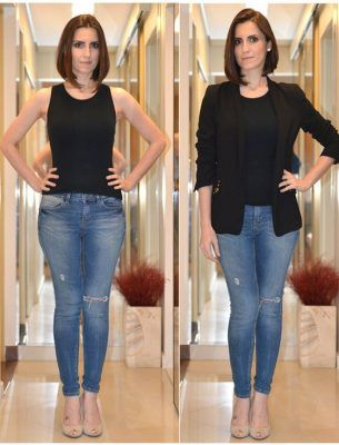 18 Looks Para Baixinhas Com Quadril Largo Blog Da Mari Calegari Moda Para Mulheres Baixas Moda Looks
