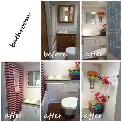 Trailer Bathroom Remodel Aragundemcom - Travel trailer bathroom remodel